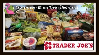 $210 Trader Joes Haul for April | So many new items