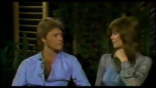 Andy Gibb and Victoria Principal on the Phil Donahue Show
