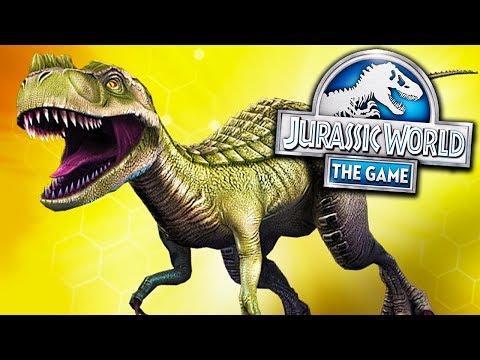 CONSEGUIMOS UM GORGOSSAURO LEVEL 20! - Jurassic World - O Jogo - Ep 219