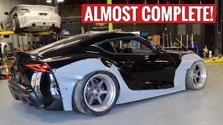 FINALLY Widebodying my 2020 Toyota Supra!!!!