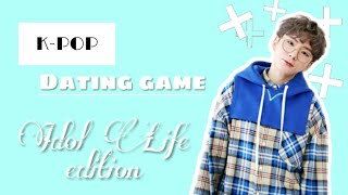 [KPOP] DATING GAME | IDOL LIFE EDITION | KPOP&PEANUTS