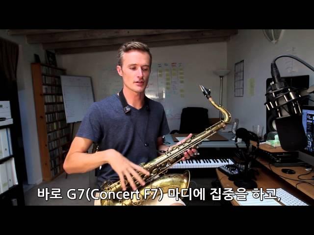 (한글자막)Jazz Lesson with Bob Reynolds