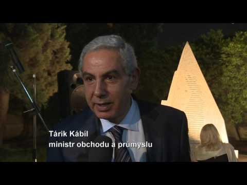 Ministr průmyslu a obchodu Jan Mládek v Egyptě