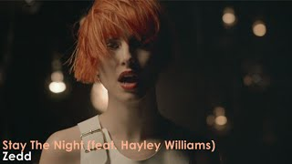Video Zedd - Stay The Night Ft. Hayley Williams (Official Video) [Lyrics + Sub Español] download MP3, 3GP, MP4, WEBM, AVI, FLV Oktober 2017