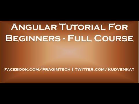 angular-tutorial-for-beginners