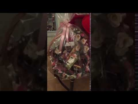Как оформить подарочную корзину