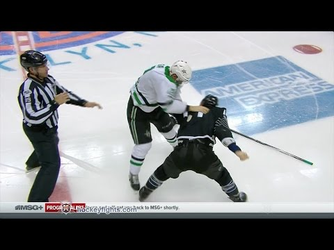 Radek Faksa vs Thomas Hickey Jan 19, 2017