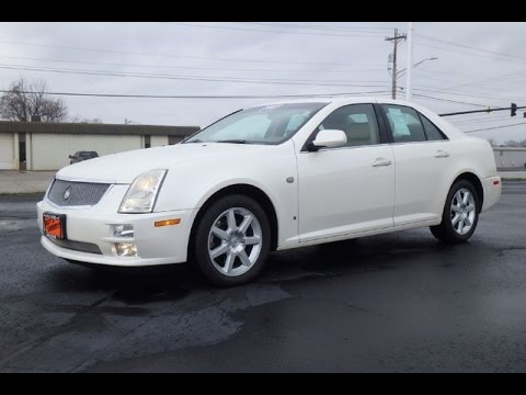 2007 cadillac sts v6 all wheel drive for sale dayton troy piqua sidney ohio cp14403a youtube. Black Bedroom Furniture Sets. Home Design Ideas