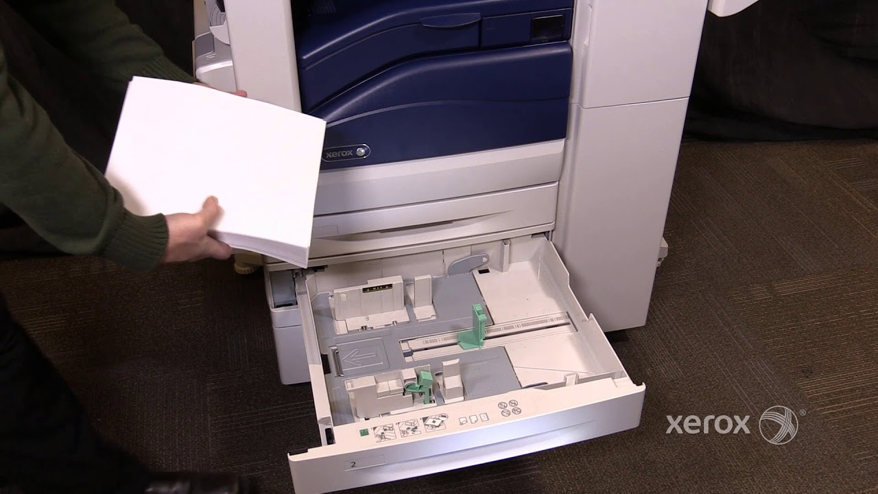 Xerox® WorkCentre® 7855 Family Loading Paper No Audio