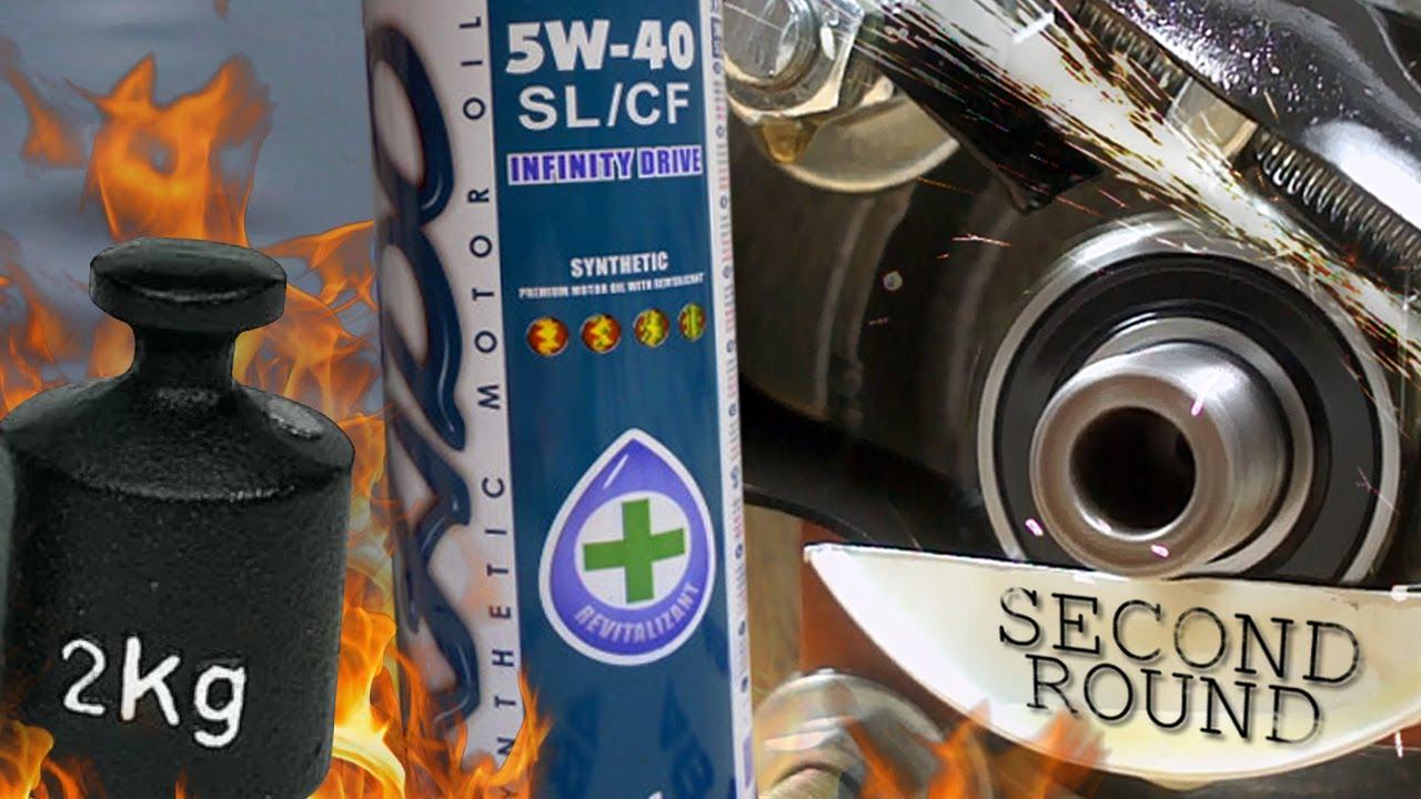 Xado Atomic Oil Infinity Drive 5W40 Jak skutecznie olej chroni silnik? 2kg