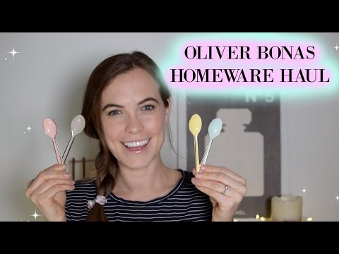 Oliver Bonas Homeware Haul | January 2017 | Megan Taylor
