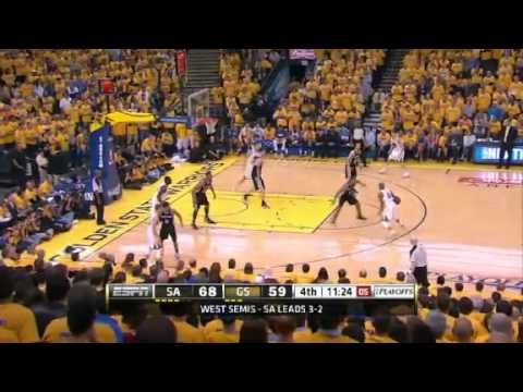 5/16/13 Game6 FINAL: Spurs 94 Warriors 82 | 2013 Playoffs RD2 GM6 Spurs-Warriors Series(7)
