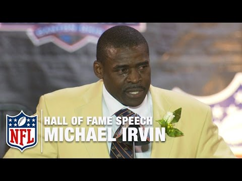 Michael Irvin Impassioned Hall of Fame Speech  | NFL Network