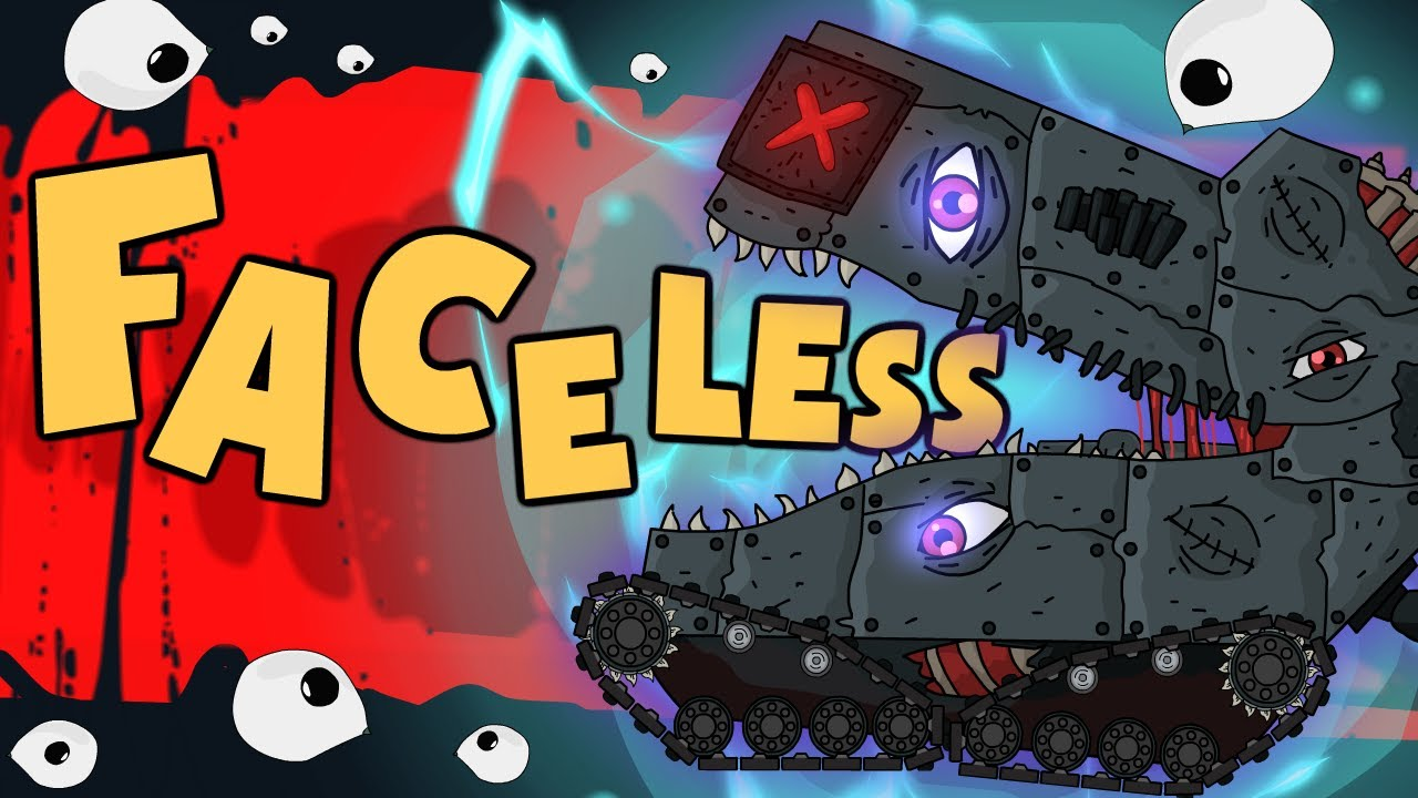 Download Ratte Vs Faceless - Cartoons about tanks