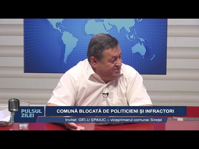 PULSUL ZILEI - COMUNA BLOCATA DE POLITICIENI SI INFRACTORI