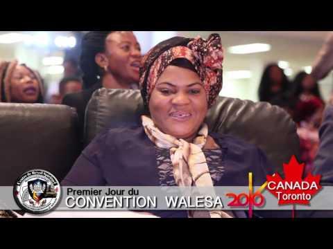 Convention Ev. Claude Kabundi Walesa Toronto Canada 2016 - 1er Jour