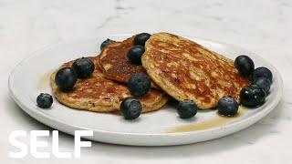Healthy Gluten-Free Banana Pancakes Under 350 Calories