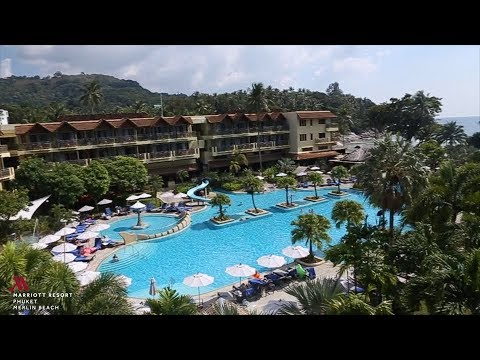 Phuket Marriott Resort & Spa, Merlin Beach Hotel Tour