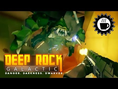 I'm a ROOKIE AGAIN! - DEEP ROCK GALACTIC - Awesome Dwarven Shooter/ mining game.