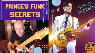 Prince. Funk Minimalist. Deconstructing & Looping 8 of his Funkiest Guitar Riffs. Tutorial. Tabs inc
