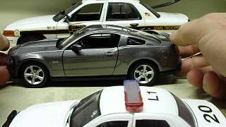 Diecast model car scale size side by side comparison