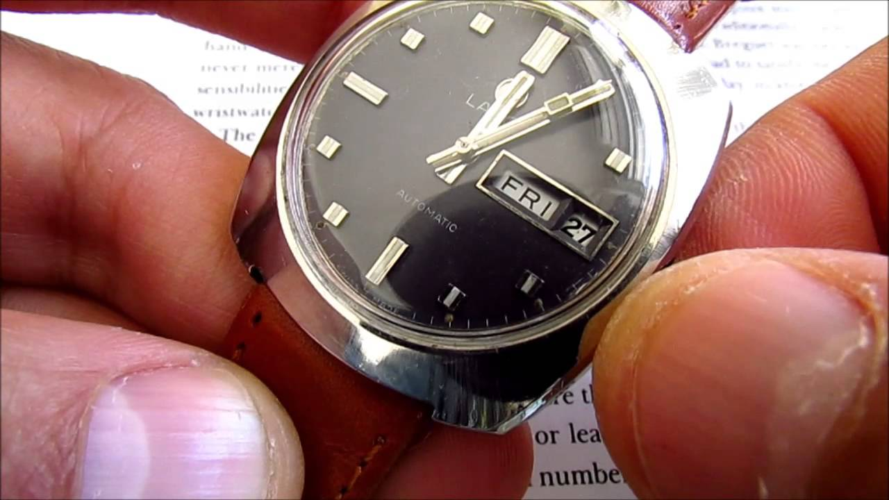 d5416843163 Lanco how to change day date calibre 6148. vintage watches
