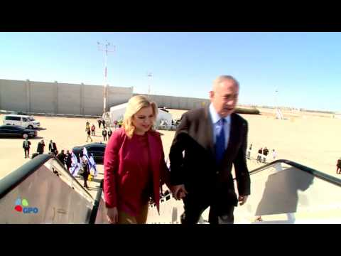 PM Netanyahu Departs for State Visit at Singapore and Australia