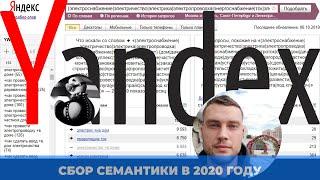 сбор семантического ядра для настройки рекламы в Яндекс Директ'е  Leonov  2020 год