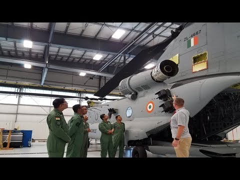 IAF Crew Starts Training on Chinook Helicopters at US Facility