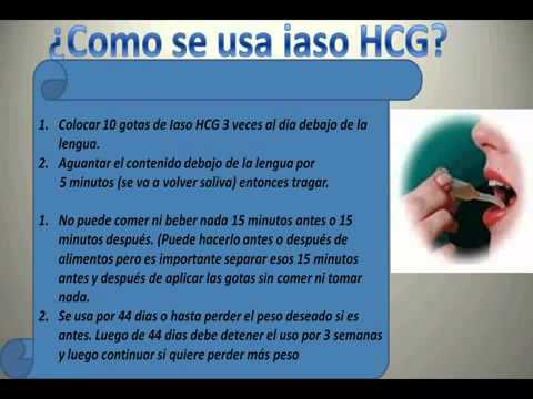 Que contiene las gotas hcg para adelgazar