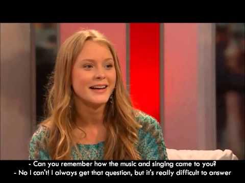 Zara Larsson interview subtitles