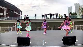 センターカメラ ダンスのお手本.