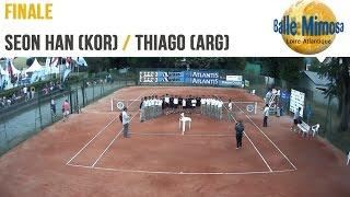 Seon Yong HAN (KOR) vs Thiago Agustin TIRANTE (ARG) Final  - Center court