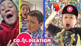 LIP SINGING COMPILATION Video MIKE from FGTEEV  FUNnel Vision Short Funny Song Clips Video 4 Kids