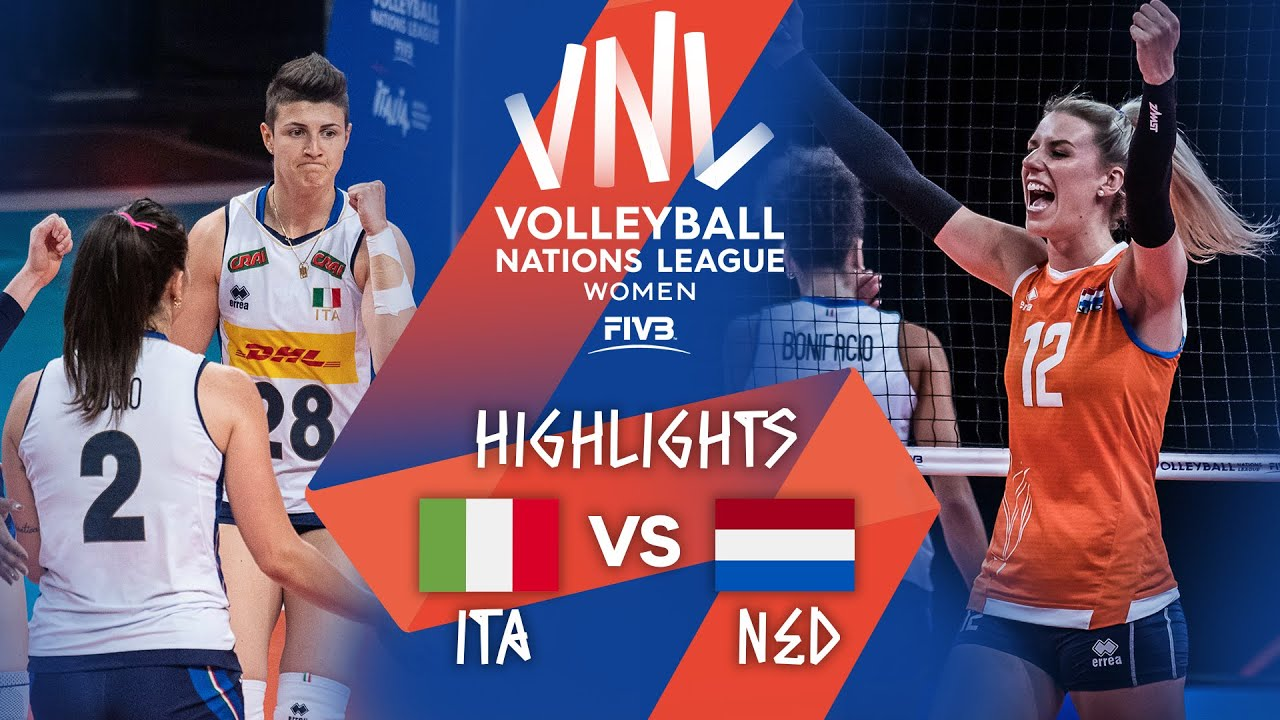 Download ITA vs. NED - Highlights Week 4 | Women's VNL 2021