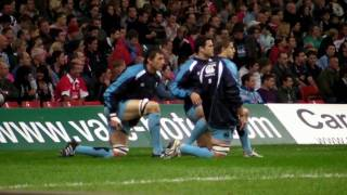 Cardiff Blues V Gloucester Rugby Training