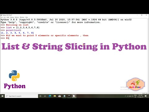 #8 List And String Slicing In Python | Python Tutorial For Beginners