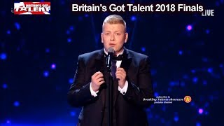"Gruffydd Wyn Roberts sings Opera Version ""Perfect"" Ed Sheeran Britain's Got Talent 2018 Final BGT"