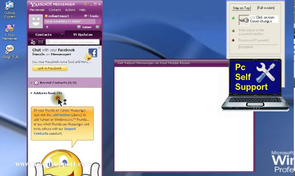 Outlook Messengers Hidden Star Symbol Password View Youtube