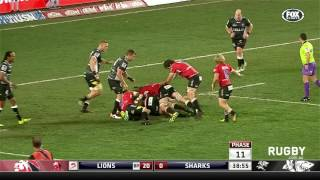 Lions dismantle the Sharks