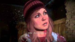 Until Dawn Butterfly Effect Chris scared Ashley with the dummy