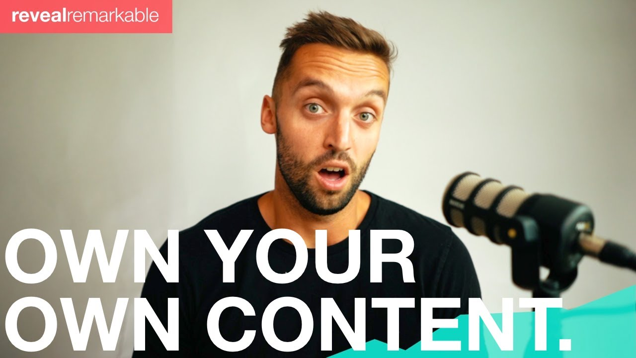 How to own your own content