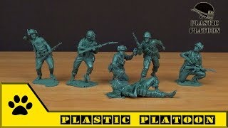 Солдатики Plastic Platoon: морпехи США, битва за Хюэ. Война во Вьетнаме / US Marines in Hue