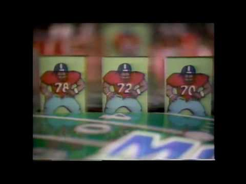 1988 Monday Night Football Intro (Week 6: PHI vs. NYG -- Frank Gifford Tribute)