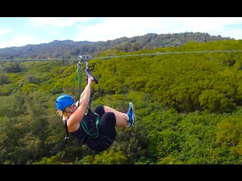 Keana Farms Zipline Oahu North Shore