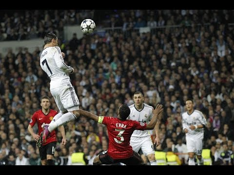 Cristiano Ronaldo • top 5 header goal • Amazing high  jump