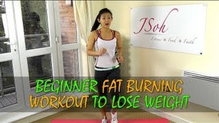 One of Joanna Soh Official's most viewed videos: Beginner Fat Burning Workout to Lose Weight in 4 weeks (Home Exercises)