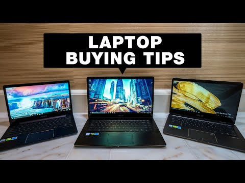 How to Choose a Laptop 2018 — ASUS Zenbook Laptop, Ultrabook and 2-in-1