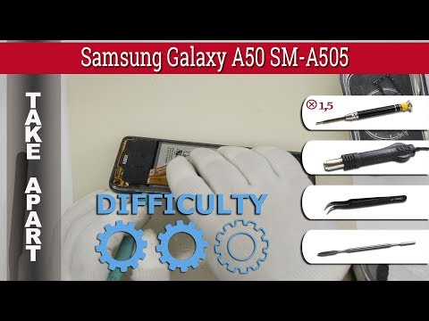 How To Disassemble 📱 Samsung Galaxy A50 SM-A505 Take Apart Tutorial