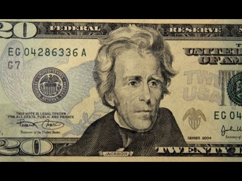 The Real Reason For Removing Andrew Jackson From $20 Bill